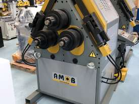 AMOB SECTION ROLLS | HYDRAULIC | DRO | PINCH TYPE  | 80MM SHAFT | HEAVY DUTY | EUROPEAN   - picture0' - Click to enlarge
