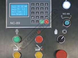 PB-830A Hydraulic NC Panbrake - NC-89 Control 2500 x 4mm Mild Steel Bending Capacity - picture2' - Click to enlarge