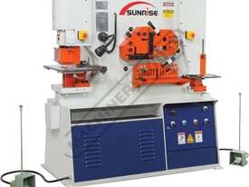 IW-60S Hydraulic Punch & Shear 60 Tonne, Dual Independent Operation Includes Auto Touch & Cut System - picture0' - Click to enlarge