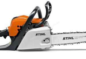 Petrol chain saws for cutting  firewood and proper