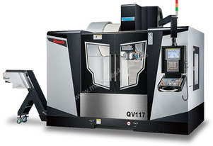 Pinnacle -  Vertical Machining Center - Box Guide Ways                           QV117, QV127, QV147