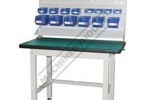 IWB-12P2 Industrial Work Bench Package Deal 1200 x 750 x 1725mm 1000kg Table Top Load Capacity
