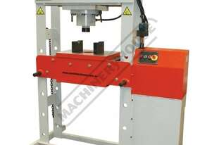 HPM-63T Industrial Motorised Hydraulic Press - 63 Tonne 5.3hp 415V Motor, 300mm Ram Stroke & 900mm H