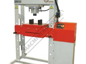 HPM-63T Industrial Hydraulic Press 63 Tonne Sliding Cylinder Ram - picture0' - Click to enlarge