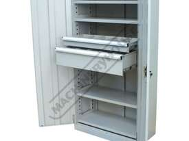 SC-1800 Industrial Storage Cabinet 900 x 450 x 1800mm 150kg Shelf Load Capacity & 75kg Drawer Capaci - picture0' - Click to enlarge