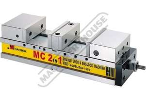 DAV-160V Safeway Double Lock Vice 160mm Jaw Width 0 - 100 & 0 - 100mm Jaw Opening
