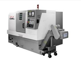 LEADWELL F1 SLANT BED CNC LATHE - picture0' - Click to enlarge