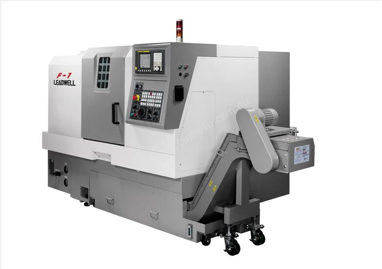 LEADWELL F1 SLANT BED CNC LATHE