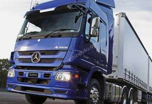 The Actros 2660 6x4 - The Heavyweight Champ