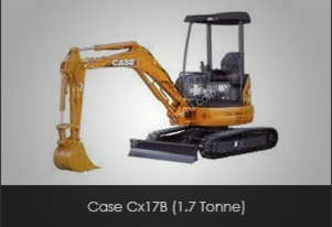 Case   Cx17B (1.7 Tonne)