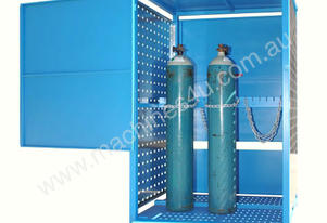 Dual Sided Access 190Kg Security Type Gas Storage