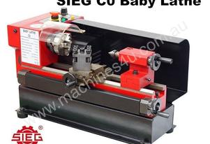 SIEG C0 /125mm Baby Lathe (Adjustable Tailstock)