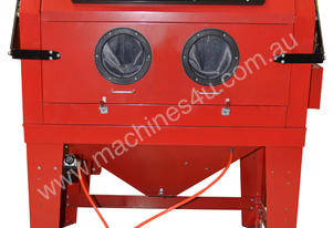 INDUSTRIAL SAND BLASTING CABINET WITH DUST EXTRACT