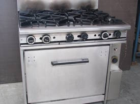 Commercial Gas 6 Burner Stove and Oven