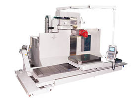 CNC Bed type milling machine with rotary table RT1 - picture0' - Click to enlarge