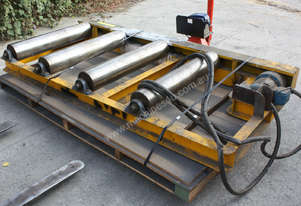 Industrial Powered Roller Conveyor .55kw 415KG