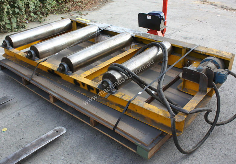 Industrial Powered Roller Conveyor 55kw 415KG