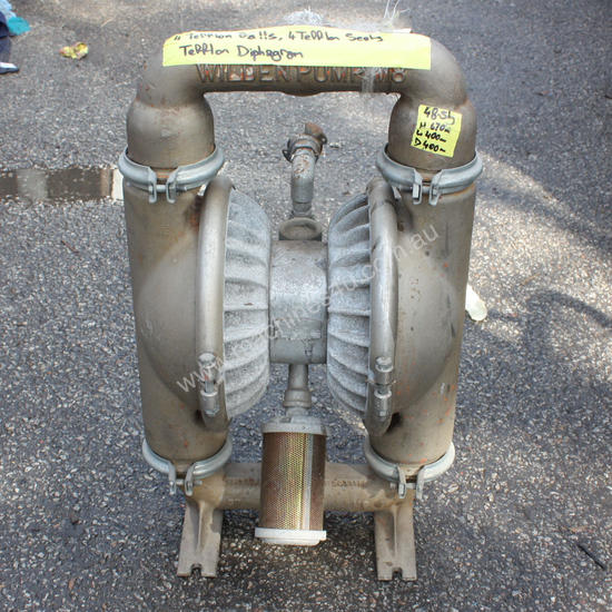 Wilden 2 M8 air operated double diaphragm pump