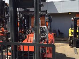Nissan Forklift 4 Ton LPG 5000mm Lift Side Shift  - picture1' - Click to enlarge