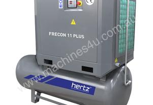 11kW Hertz VSD Screw Air Compressor, 63cfm