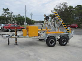 6T SELF LOADING CABLE DRUM TRAILER