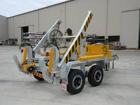 REDMOND GARY  6.0 Tonne Self Loading Cable Drum Trailer - picture3' - Click to enlarge