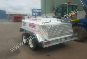 1,500 Litre fuel trailer for Hire