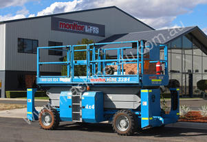 Genie GS3384RT Twin Deck 4WD Diesel Scissor Lift