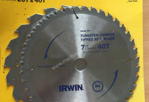 2X IRWIN 90008 Tungsten Carbide Tipped Saw Blade 7