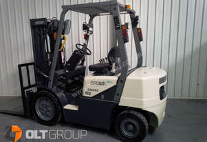 Crown Diesel Forklift 3 Stage Mast Sideshift 4th F
