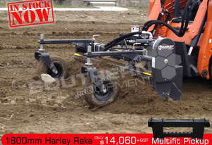 1800mm M6H Harley Angle Rake Suit Kubota Bobcat ATTRAK