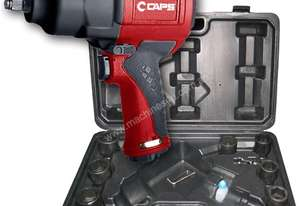 CAPS C21101-K Air Impact Wrench Kit w/ Sockets
