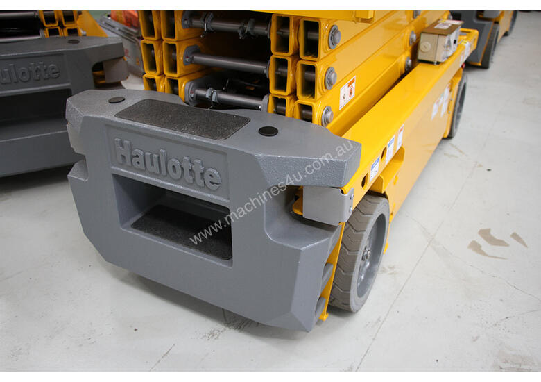 New Haulotte Electric Scissor Lift & Trailer Package | Floor Stock Available!