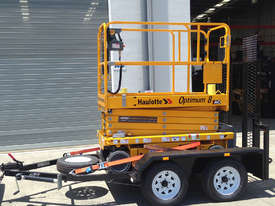 New Haulotte Electric Scissor Lift & Trailer Package | Floor Stock Available! - picture0' - Click to enlarge