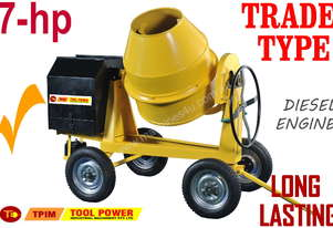 Cement Mixer, 350-Litres, Extreme Series with Dies