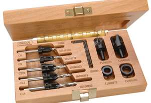 W.L. Fuller Countersink Set in Wooden Box