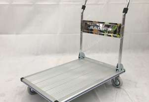 250kg Aluminum platform trolley, size 900x610mm, unit weight 15kg