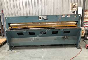 Used EPIC Guillotine 2500 x 3mm