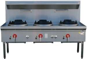 LKK LKK-3B Waterless Wok Burners
