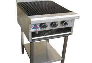 LKKCG6 3 Burner Gas Char Grill - 600mm