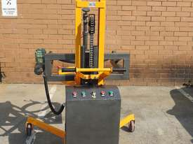Power Lifter and Rotating 300kg Drum Lifter / Rotator Lift Height 1500mm - picture1' - Click to enlarge