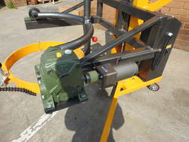 Power Lifter and Rotating 300kg Drum Lifter / Rotator Lift Height 1500mm - picture2' - Click to enlarge