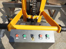 Power Lifter and Rotating 300kg Drum Lifter / Rotator Lift Height 1500mm - picture5' - Click to enlarge