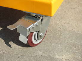 Power Lifter and Rotating 300kg Drum Lifter / Rotator Lift Height 1500mm - picture6' - Click to enlarge