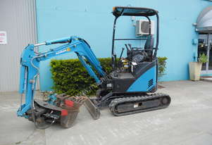 1.7 Tonne Airman Excavator for HIRE with Buckets & Ripper