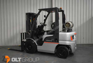 Nissan PL02A25JU 2.5t forklift for sale container mast