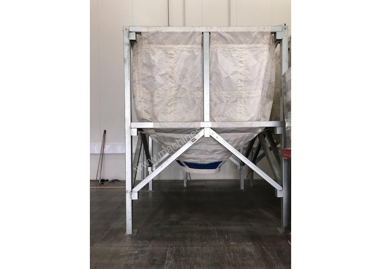Large Portable Stainless Steel Frame Bag Silo