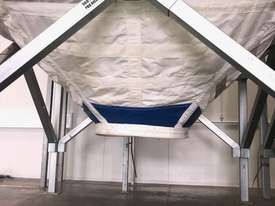 Large Portable Stainless Steel Frame Bag Silo - picture7' - Click to enlarge