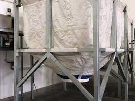 Large Portable Stainless Steel Frame Bag Silo - picture8' - Click to enlarge
