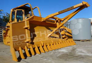 CAT D5M Bulldozer Stick Rake & Tree Pusher DOZRAKE